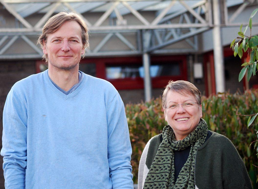 Herr Ansgar Schiffer und Frau Ute Th. Knopf