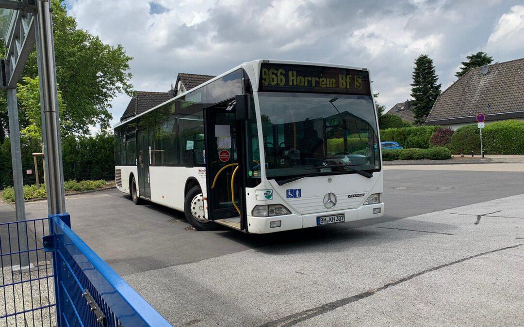 Neuerungen im Schulbusverkehr zum 14.06.2020