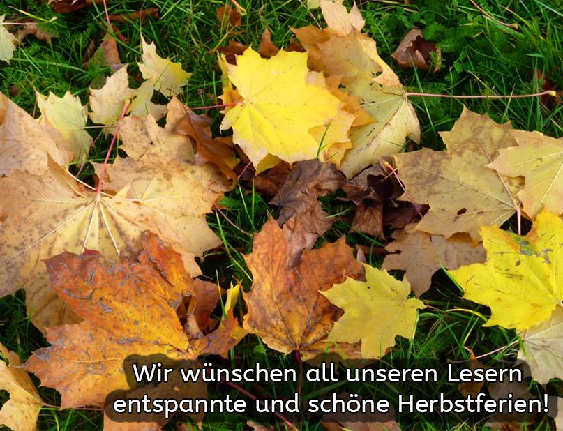 Herbstgrüße!