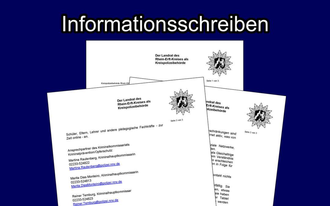 """""""Pädokriminelle im Internet"""" – die Kreispolizeibehörde informiert"""
